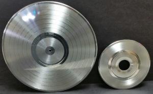 Erika Records Platinum LP amd 45