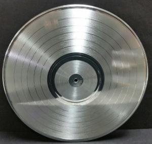 Erika Records Platinum LP