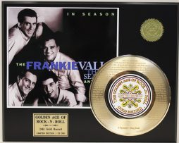 4-SEASONS-FRANKIE-VALLI-GOLD-RECORD-LTD-EDITION-LASER-ETCHED-WITH-SONGS-LYRICS-171369056810