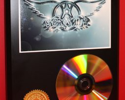 AEROSMITH-LTD-24kt-GOLD-CD-DISC-COLLECTIBLE-AWARD-QUALITY-DISPLAY-171349679070