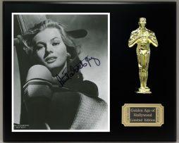 ANITA-EKBERG-Reproduction-Signed-8-x-10-Photo-Limited-Edition-Oscar-Display-181830406150