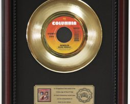 BANGLES-MANIC-MONDAY-GOLD-RECORD-CUSTOM-FRAMED-CHERRYWOOD-DISPLAY-K1-172163991840