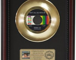 BRENDA-LEE-ALL-YOU-GOTTA-DO-GOLD-RECORD-CUSTOM-FRAME-CHERRYWOOD-DISPLAY-K1-182089284540