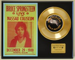 BRUCE-SPRINGSTEEN-LIMITED-EDITION-EDITION-CONCERT-POSTER-SERIES-GOLD-45-DISPLAY-171347796590