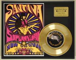 CARLOS-SANTANA-LTD-EDITION-CONCERT-POSTER-SERIES-GOLD-45-DISPLAY-SHIP-US-FREE-171256573700