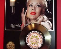 CHRISTINA-AGUILERA-GOLD-RECORD-AWARD-STYLE-MEMORABILIA-LTD-EDITION-WALL-ART-DECO-170833385210