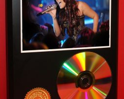 DEMI-LOVATO-LIMITED-EDITION-24kt-GOLD-CD-DISC-COLLECTIBLE-AWARD-QUALITY-DISPLAY-181429801480