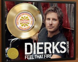 DIERKS-BENTLEY-LTD-EDITION-POSTER-ART-GOLD-RECORD-MEMORABILIA-DISPLAY-FREE-SHIP-181663922230