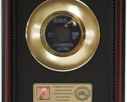 DOLLY-PARTON-I-WILL-ALWAYS-GOLD-RECORD-CUSTOM-FRAMED-CHERRYWOOD-DISPLAY-K1-182089299380