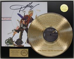 DOLLY-PARTON-LTD-GOLD-LP-LASER-ETCHED-W-LYRICS-TO-GET-OUT-STAY-OUT-FREE-SHIP-181359374610