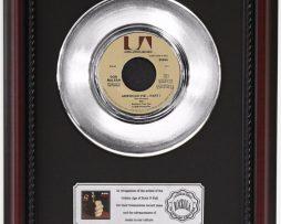 DON-MCLEAN-AMERICAN-PIE-PLATINUM-RECORD-FRAMED-CHERRYWOOD-DISPLAY-K1-172204279430