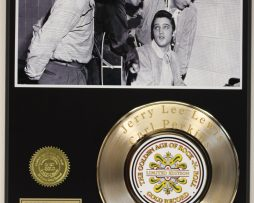 ELVIS-PRESLEY-2-GOLD-RECORD-LIMITED-EDITION-LASER-ETCHED-WITH-SONGS-LYRICS-171369045100