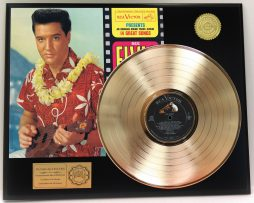 ELVIS-PRESLEY-BLUE-HAWAII-GOLD-LP-LTD-EDITION-RARE-RECORD-DISPLAY-181319176860