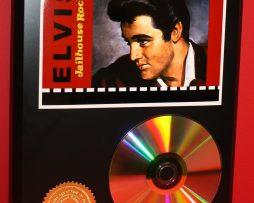 ELVIS-PRESLEY-JAILHOUSE-ROCK-24kt-GOLD-CD-DISC-COLLECTIBLE-DISPLAY-171354338820