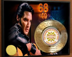 ELVIS-PRESLEY-LASER-ETCHED-W-LYRICS-TO-BURNING-LOVE-POSTER-ART-GOLD-RECORD-171387573110