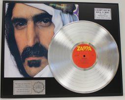 FRANK-ZAPPA-SHEIK-YERBOUTI-PLATINUM-LP-LTD-EDITION-RECORD-DISPLAY-FREE-SHIP-181148260590
