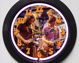 GRATEFUL-DEAD-4-15-PURPLE-NEON-ROCK-N-ROLL-WALL-CLOCK-K1-172219422640