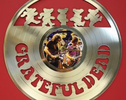 GRATEFUL-DEAD-LASER-CUT-GOLD-PLATED-LP-RECORD-WALL-CLOCK-FREE-SHIPPING-181893081640