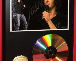 JOSH-GROBAN-LTD-EDITION-24kt-GOLD-CD-DISC-COLLECTIBLE-DISPLAY-181434231550