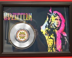 LED-ZEPPELIN-LARGE-FRAMED-PLATINUM-45-RECORD-DISPLAY-FAST-FREE-US-SHIPPING-170957190520