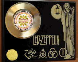LED-ZEPPELIN-LTD-EDITION-POSTER-ART-GOLD-RECORD-MUSIC-MEMORABILIA-FREE-SHIPPING-181021487260