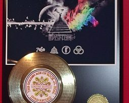 LED-ZEPPELIN-WALL-ART-45-GOLD-RECORD-LIMITED-EDITION-LASER-ETCHED-WSONG-LYRICS-170831031760
