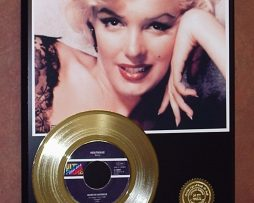 MARILYN-MONROE-GOLD-45-RECORD-LIMITED-EDITION-DISPLAY-FREE-SHIPPING-181231321770