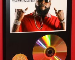 RICK-ROSS-24kt-GOLD-CDDISC-COLLECTIBLE-AWARD-QUALITY-DISPLAY-171358551990