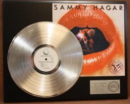 SAMMY-HAGAR-LP-LTD-EDITION-RECORD-DISPLAY-AWARD-QUALITY-ITEM-180911725340
