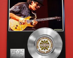 SANTANA-PLATINUM-RECORD-LTD-EDITION-RARE-COLLECTIBLE-MUSIC-GIFT-AWARD-170867111430