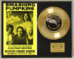 SMASHING-PUMPKINS-LTD-EDITION-CONCERT-POSTER-SERIES-GOLD-45-DISPLAY-171146396120