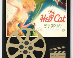 THE-HELL-CAT-WITH-ROBERT-ARMSTRONG-ANN-SOTHERN-LTD-EDITION-MOVIE-REEL-DISPLAY-172243717020