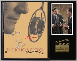 THE-KINGS-SPEECH-LTD-EDITION-REPRODUCTION-MOVIE-SCRIPT-CINEMA-DISPLAY-C3-182127834350