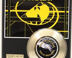 WU-TANG-2-LTD-EDITION-GOLD-PLATED-45-RECORD-DISPLAY-FREE-DOMESTIC-SHIPPING-171619905120
