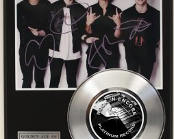 5-SECONDS-TO-SUMMER-PLATINUM-RECORD-LTD-EDITION-SIGNATURE-SERIES-SHIPS-US-FREE-181629528581