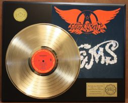 AEROSMITH-GEMS-GOLD-LP-LTD-EDITION-RECORD-DISPLAY-AWARD-QUALITY-COLLECTIBLE-181447382791