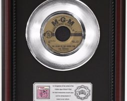 ANIMALS-HOUSE-OF-THE-RISING-SUN-PLATINUM-RECORD-FRAMED-CHERRYWOOD-DISPLAY-K1-182128867751