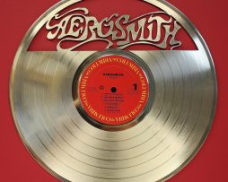 Aerosmith-Gold-Laser-Etched-Limited-Edition-12-LP-Wall-Display-Ships-Free-171298920871
