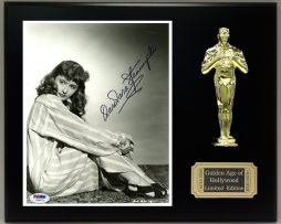 BARBARA-STANWYCK-Reproduction-Signed-8-x-10-Photo-Limited-Edition-Oscar-Display-171889577851