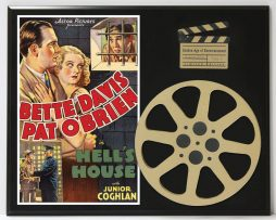 BETTE-DAVIS-PAT-OBRIEN-IN-HELLS-HOUSE-LTD-EDITION-MOVIE-REEL-DISPLAY-182173440361