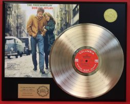 BOB-DYLAN-GOLD-LP-DISPLAY-PLAYS-THE-SONG-BLOWIN-IN-THE-WIND-SHIPS-FREE-181109007301