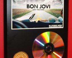 BON-JOVI-LIMITED-24kt-GOLD-CD-DISC-COLLECTIBLE-AWARD-QUALITY-DISPLAY-181429755921