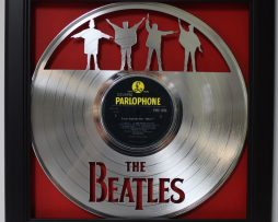 Beatles-Help-Framed-Laser-Cut-Platinum-Vinyl-Record-in-Shadowbox-Wallart-182327986541