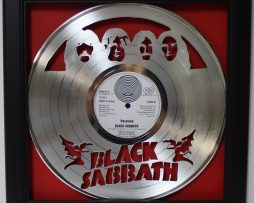 Black-Sabbath-2-Framed-Laser-Cut-Platinum-Vinyl-Record-in-Shadowbox-Wallart-172386230121