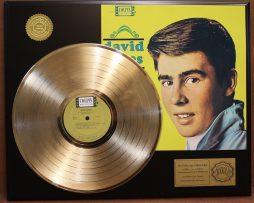 DAVY-JONES-GOLD-LP-LTD-EDITION-RECORD-DISPLAY-AWARD-QUALITY-RARE-COLLECTIBLE-170866179181