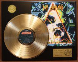 DEF-LEPPARD-HYSTERIA-GOLD-LP-LTD-EDITION-RECORD-DISPLAY-181447387921