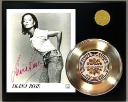 DIANA-ROSS-GOLD-45-RECORD-SIGNATURE-SERIES-LTD-EDITION-FREE-US-SHIPPING-171241100311