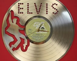 ELVIS-PRESLEY-3-LASER-CUT-GOLD-PLATED-LP-RECORD-WALL-CLOCK-FREE-SHIPPING-181893071291