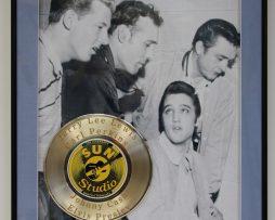 ELVIS-PRESLEY-CUSTOM-FRAMED-GOLD-CLAD-RECORD-DISPLAY-LTD-EDITION-SHIPS-US-FREE-2-171064503101