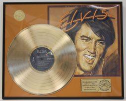 ELVIS-PRESLEY-CUSTOM-FRAMED-GOLD-CLAD-RECORD-DISPLAY-LTD-EDITION-SHIPS-US-FREE-9-171064511221